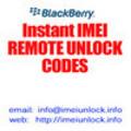 Thumbnail Blackberry 8300 Curve Unlock Code