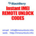 Thumbnail Verizon BlackBerry Unlock Code