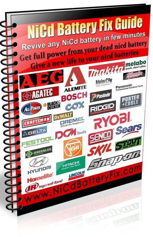 Thumbnail Craftsman Power Tool Battery Repair Guide - Rebuild Craftsman NiCad battery